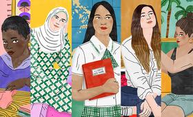 Illustration de Bodil Jane pour l'UNFPA.